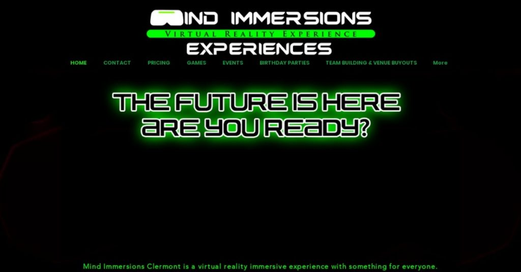 Mind Immersions Virtual Reality Clermont