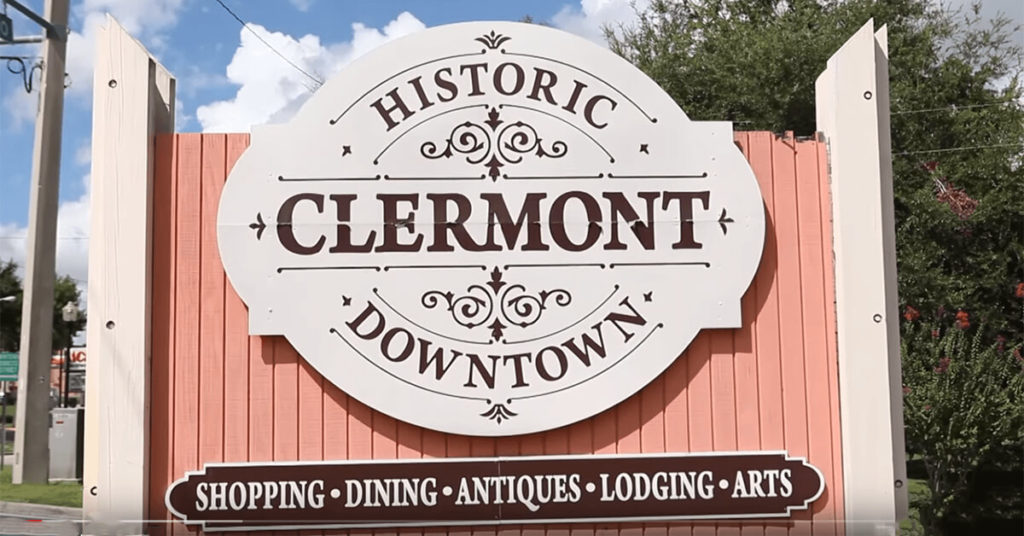 Historic Downtown Clermont Sign