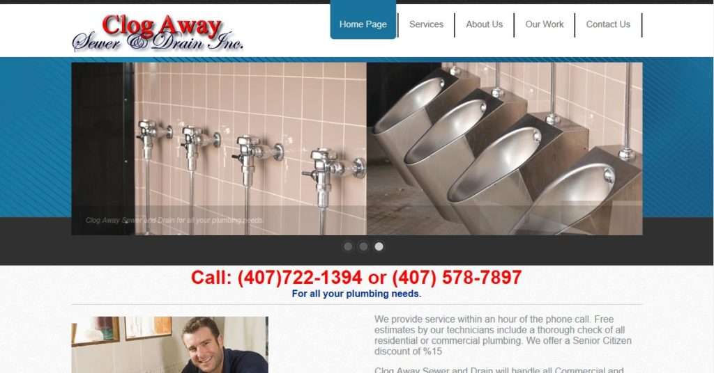 Clog Away Sewer and Drain Inc.