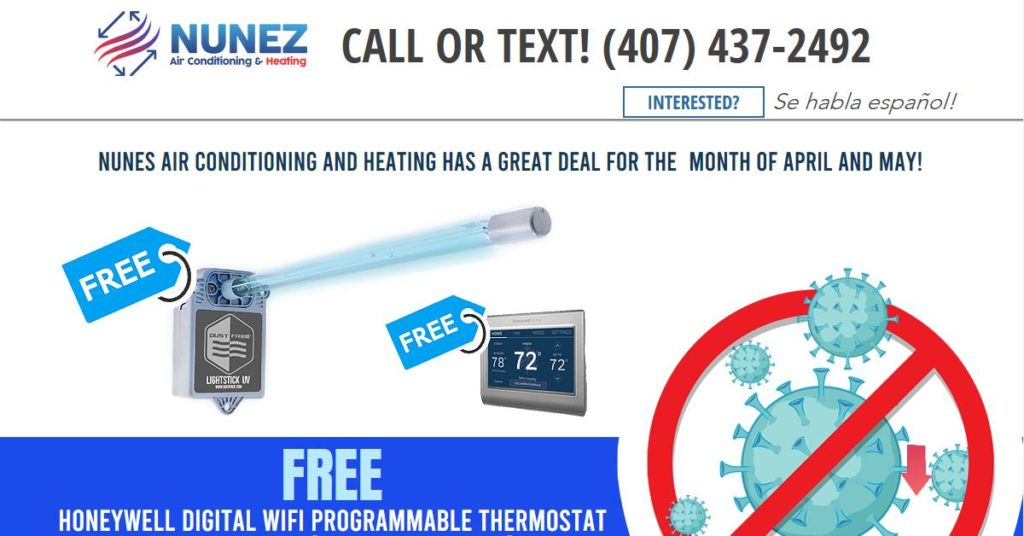 Nunez Air Conditioning and Heating