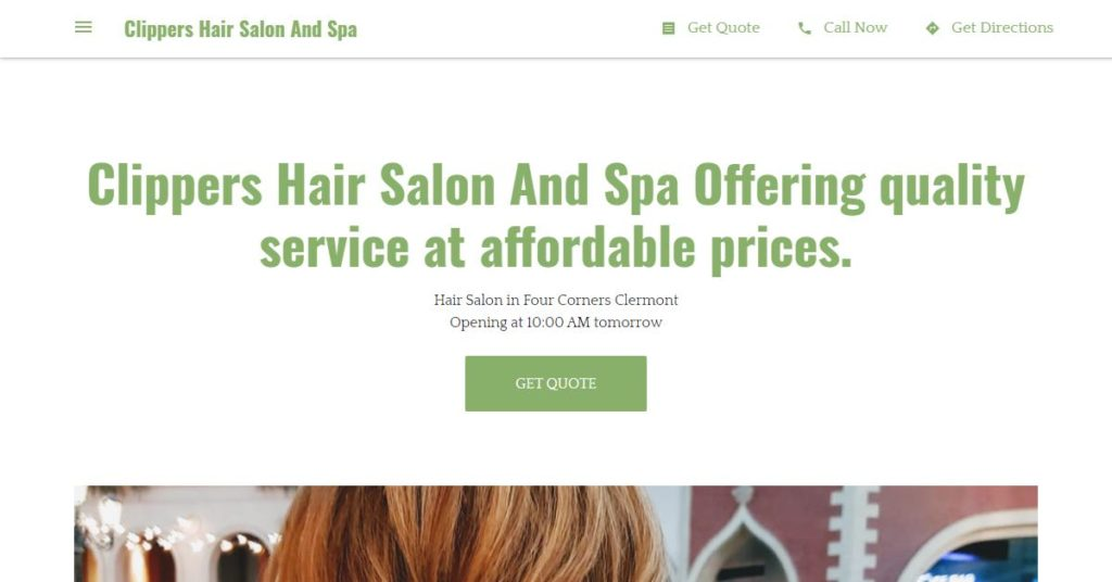 Clippers Hair Salon and Spa